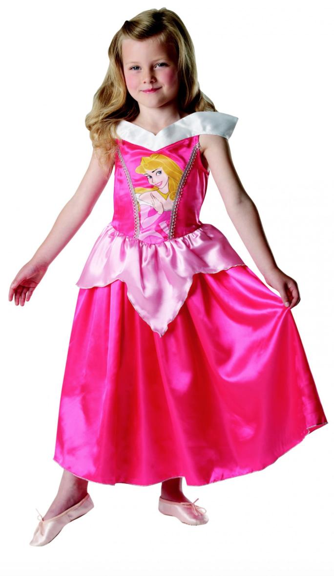Tornerose børnekostume - Disney prinsesse kostume til børn