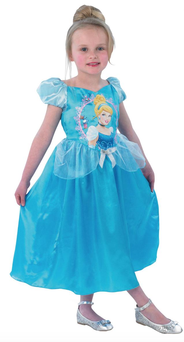 askepot børnekostume - Askepot kostume til børn