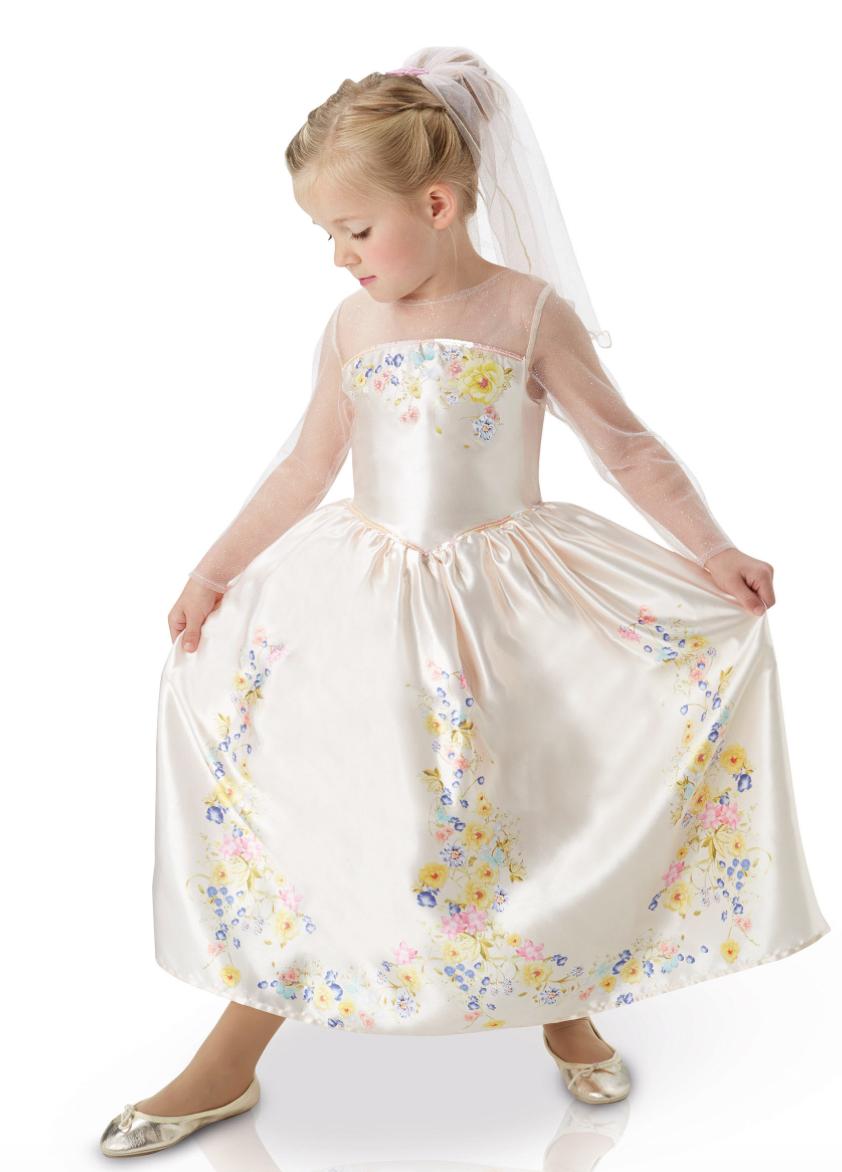 askepot bryllups kostume - Disney prinsesse kostume til børn