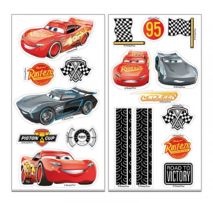 Cars 3 muffin sukkerprint 300x286 - Cars kageprint
