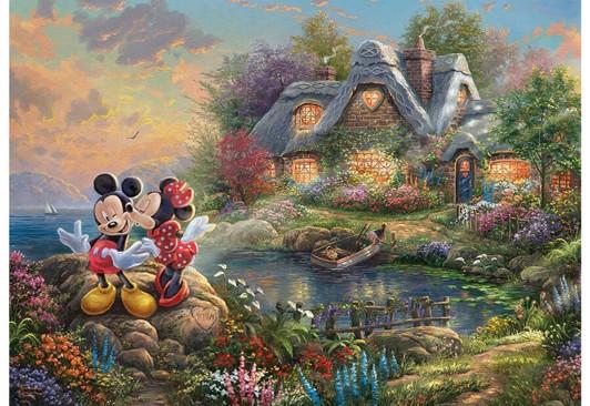 Mickey og Minnie Mouse voksenpuslespil - Minnie Mouse puslespil for børn og voksne