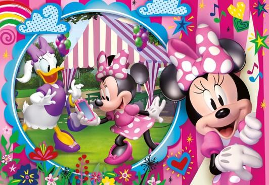 Minnie Mouse gulvpuslespil - Minnie Mouse puslespil for børn og voksne