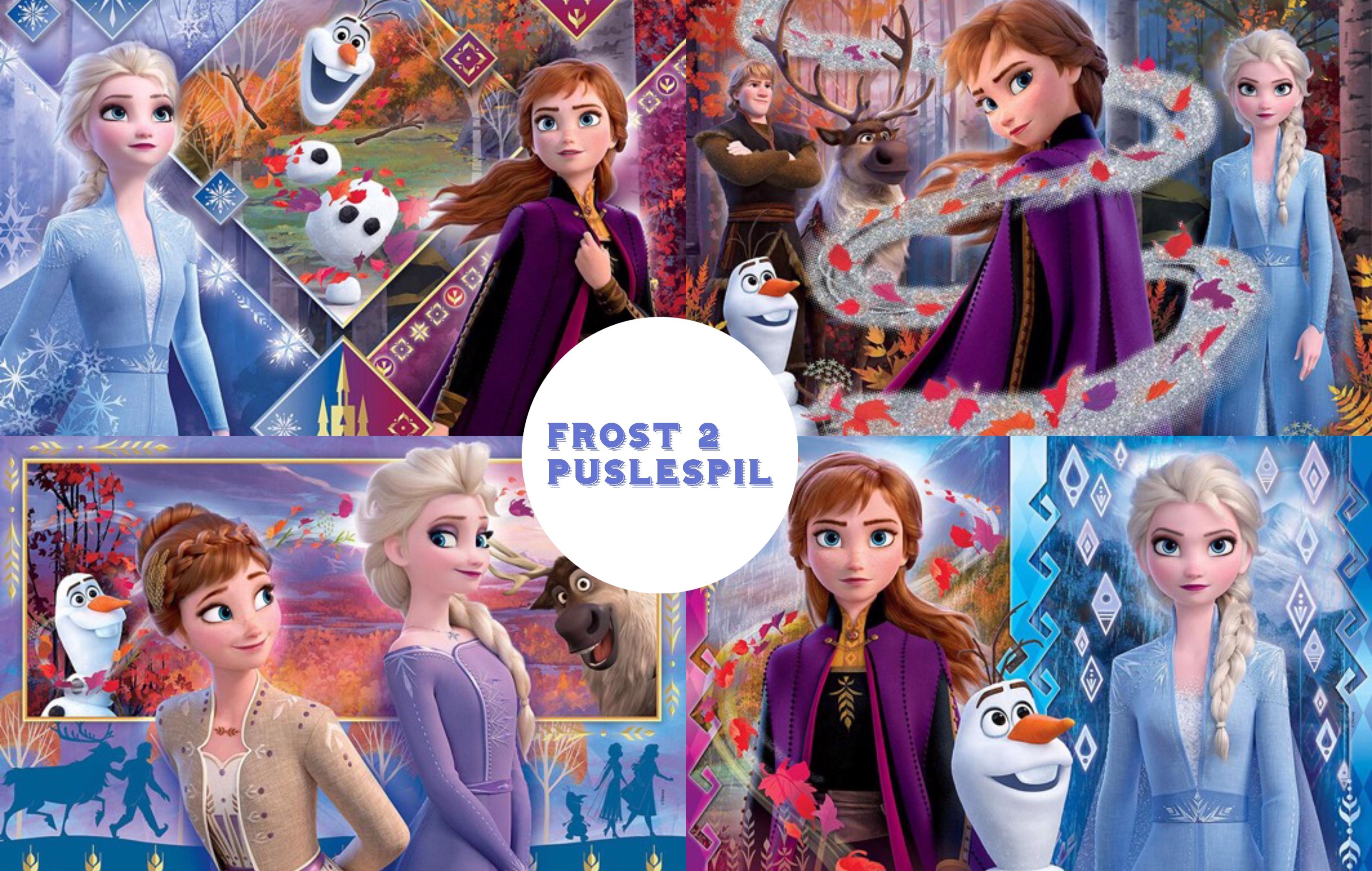 Frost 2 puslespil – for børn og barnelige sjæle