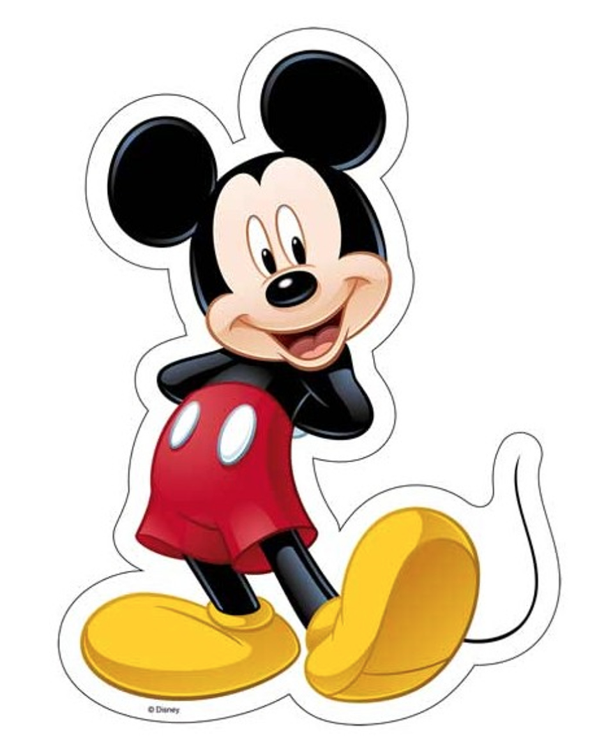 mickey mouse sukkerprint - Mickey Mouse kageprint