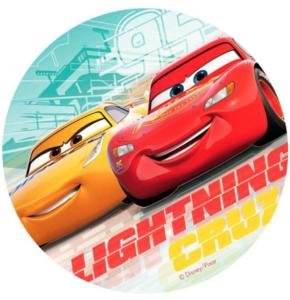 spiseligt cars billede 290x300 - Cars kageprint