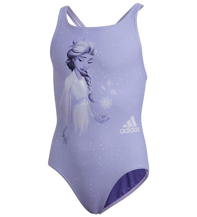 Adidas badedragt med Elsa motiv - Frost badetøj til børn
