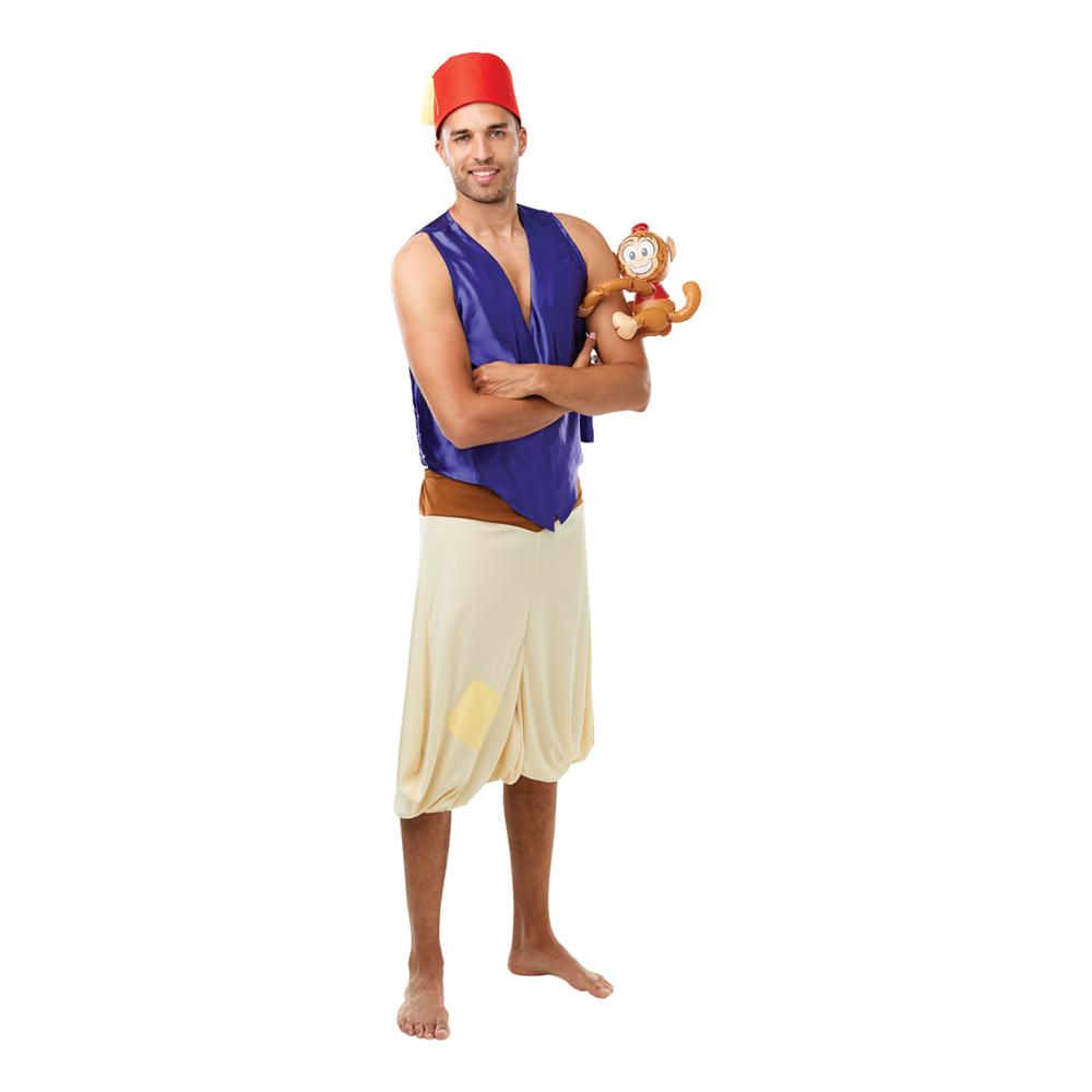 Aladdin med abe kostume - Aladdin kostume til voksne