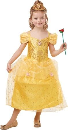 Disney belle børnekostume - Disney prinsesse kostume til børn