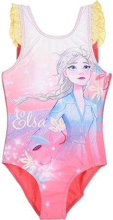 Disney frozen badedragt med elsa motiv - Frost badetøj til børn