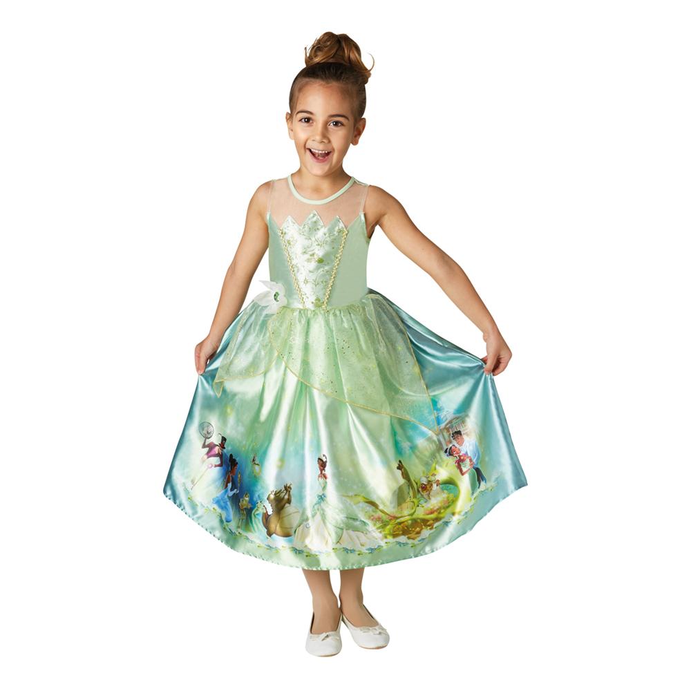 Prinsesse tiana børnekostume - Disney prinsesse kostume til børn
