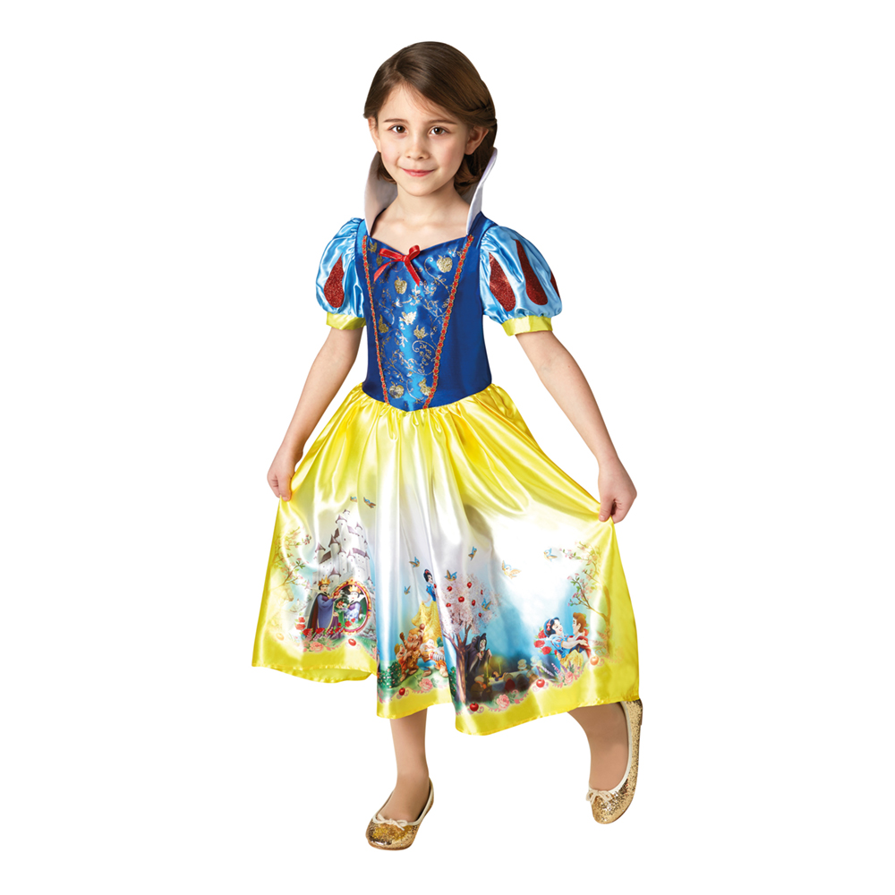 Snehvide kjole - Disney prinsesse kostume til børn