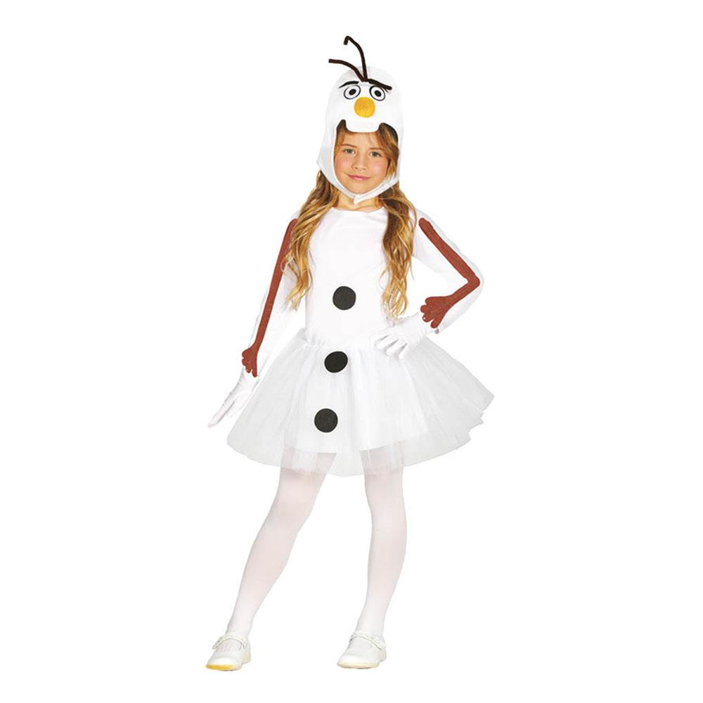 Snemand kostume til børn - Olaf kostume til børn