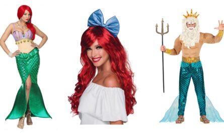 ariel kostume til voksne 445x265 - Ariel kostume til voksne