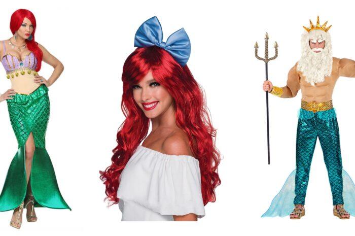Ariel kostume til voksne