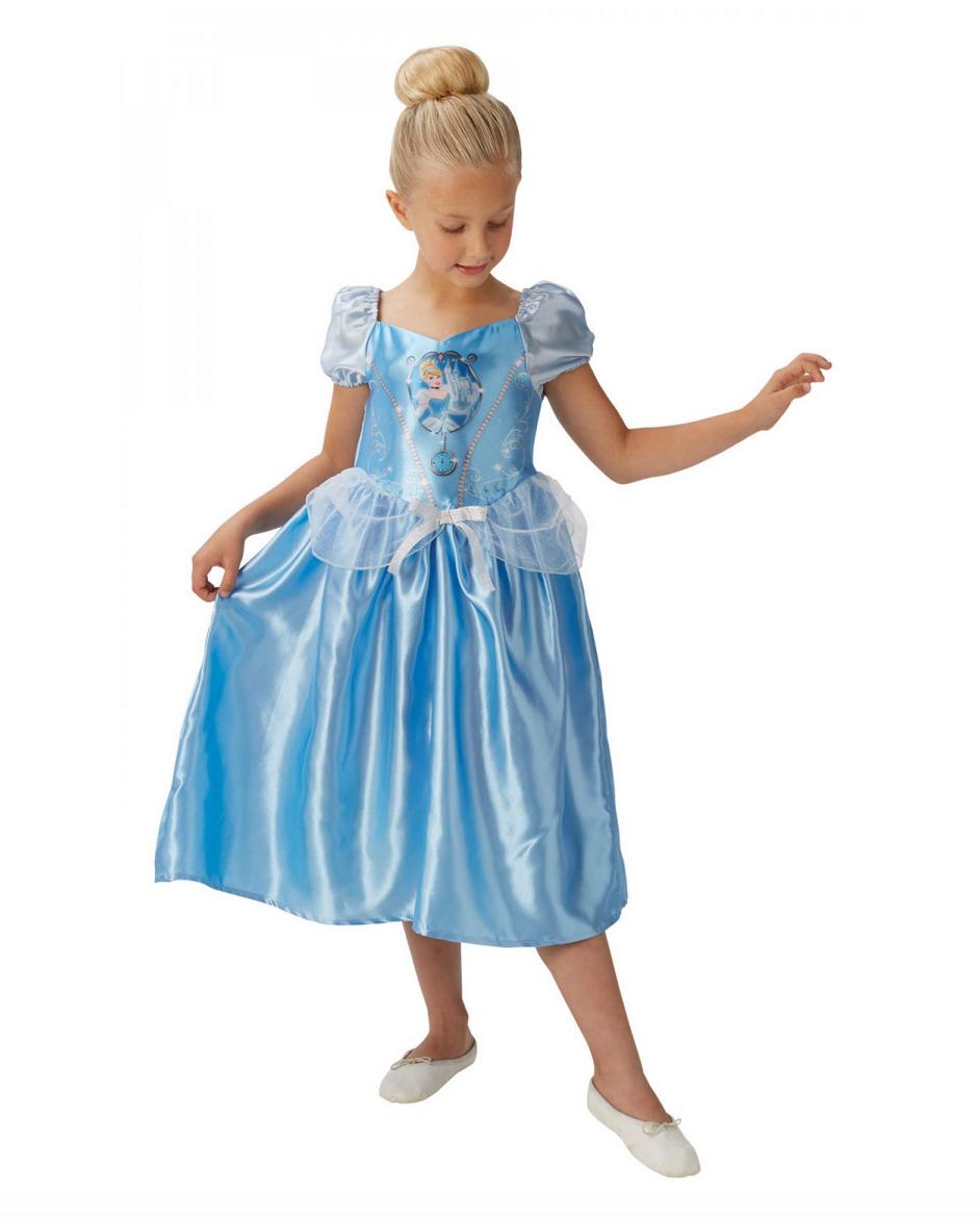 askepot børnekostume - Disney prinsesse kostume til børn