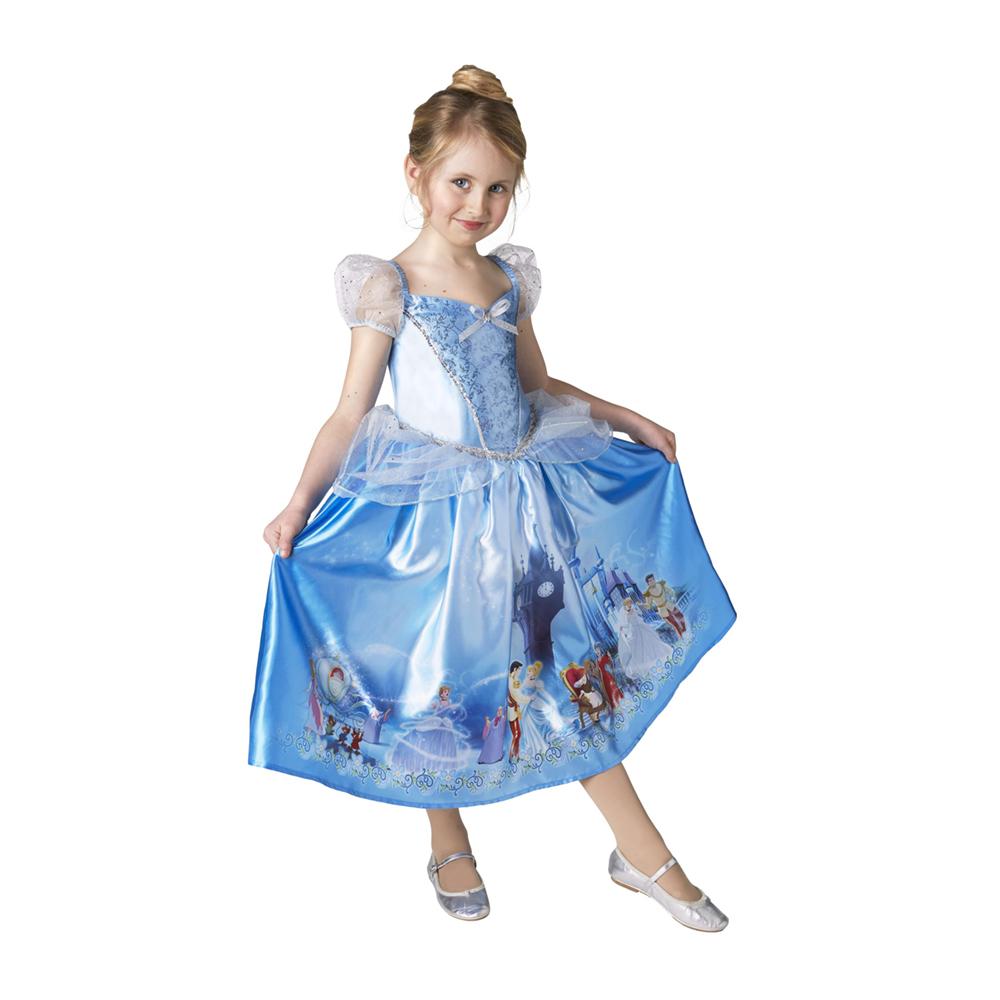 askepot kjole - Disney prinsesse kostume til børn