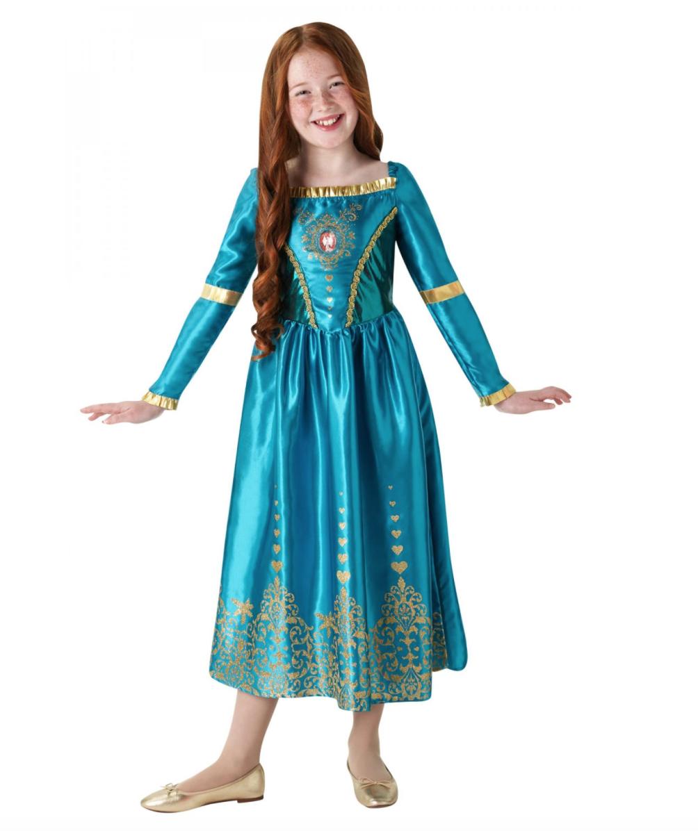 modig børnekostume - Merida kostume til børn