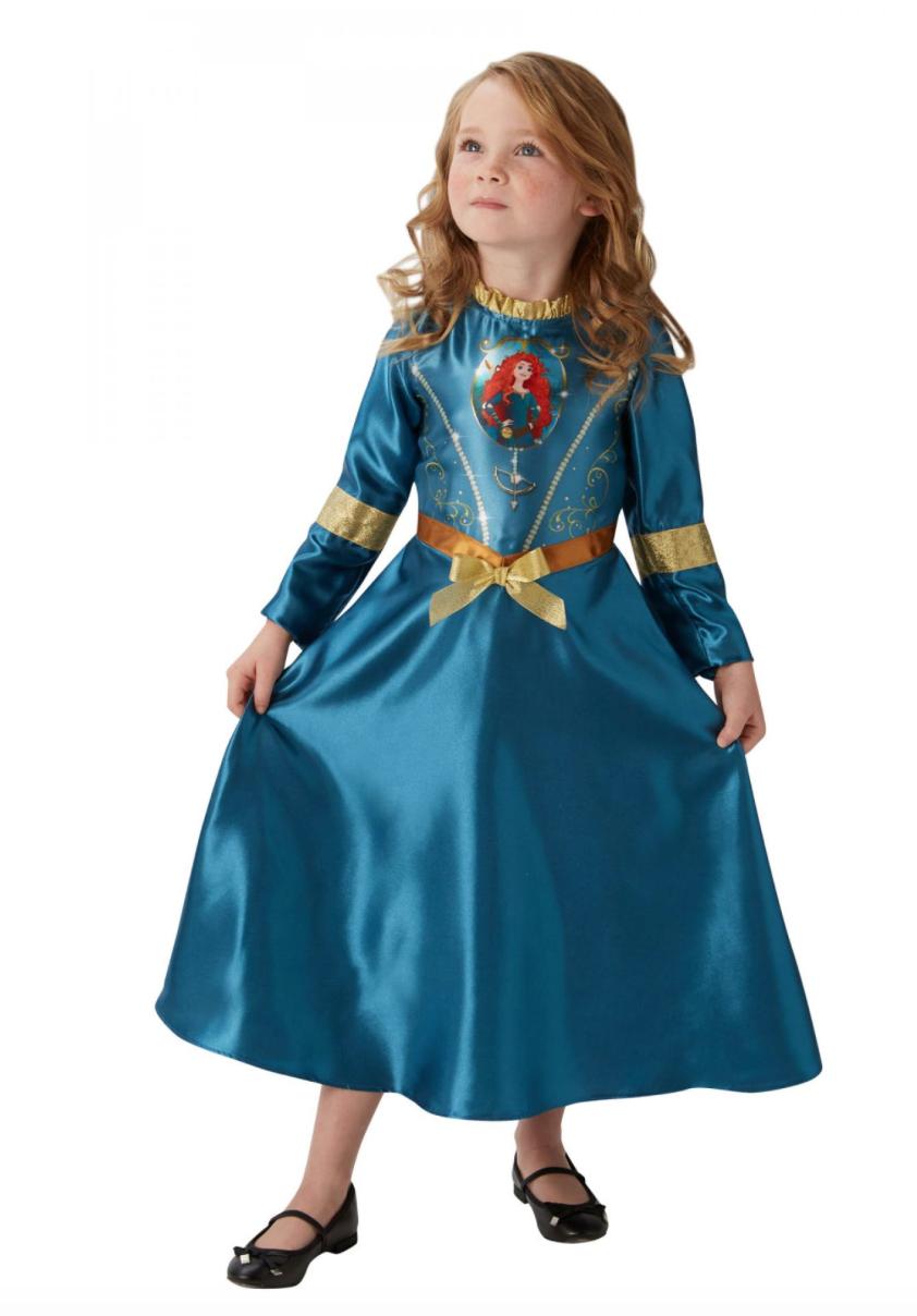 prinsesse merida børnekostume - Merida kostume til børn