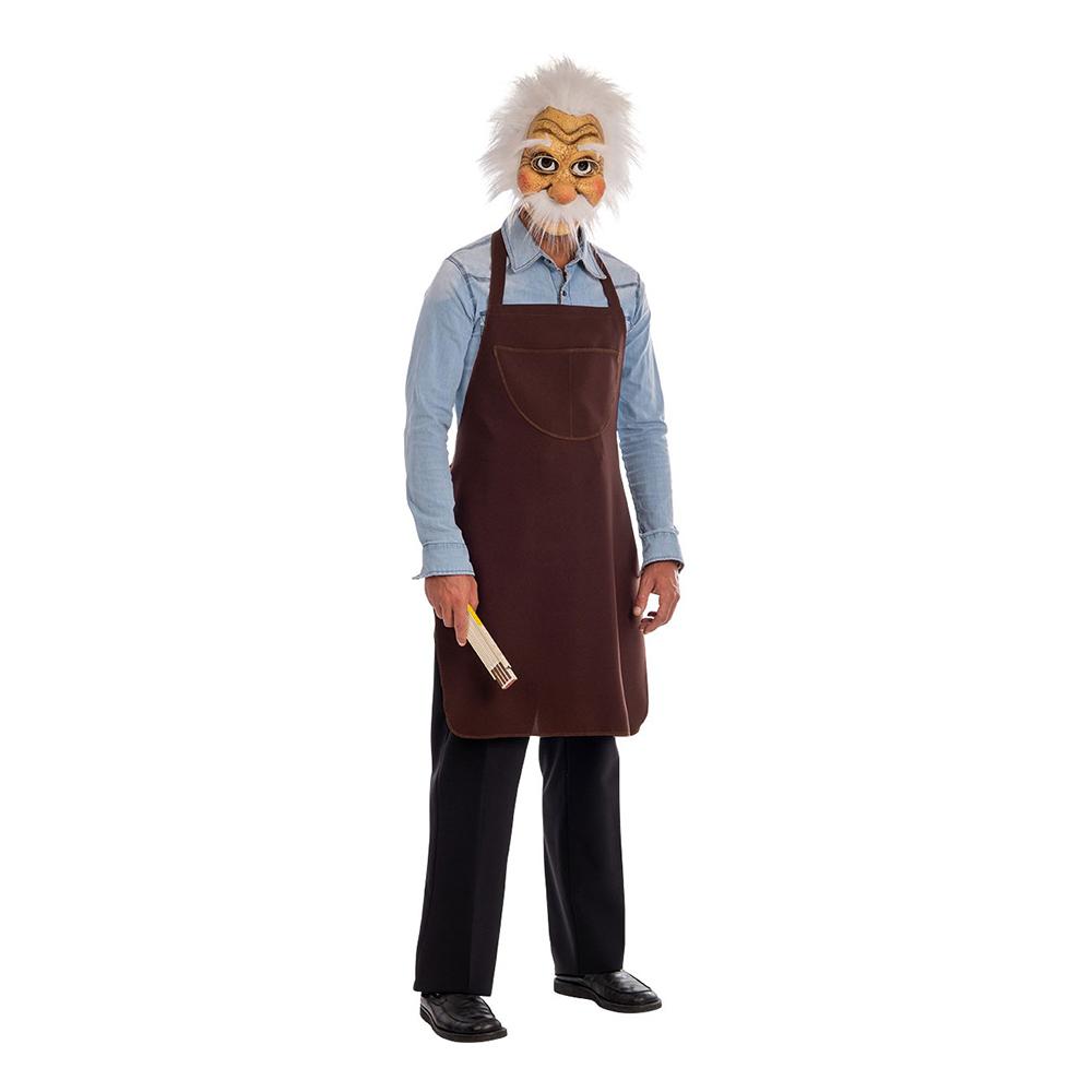 træsnitter kostume - Pinocchio kostume til voksne