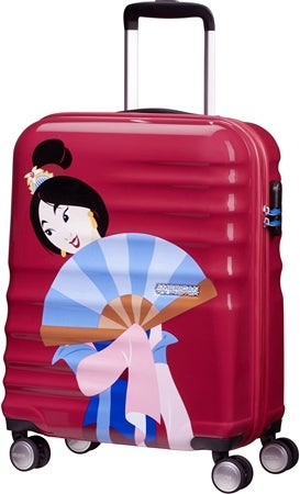American Tourister Disney Mulan rejsekuffert - Disney prinsesse kuffert