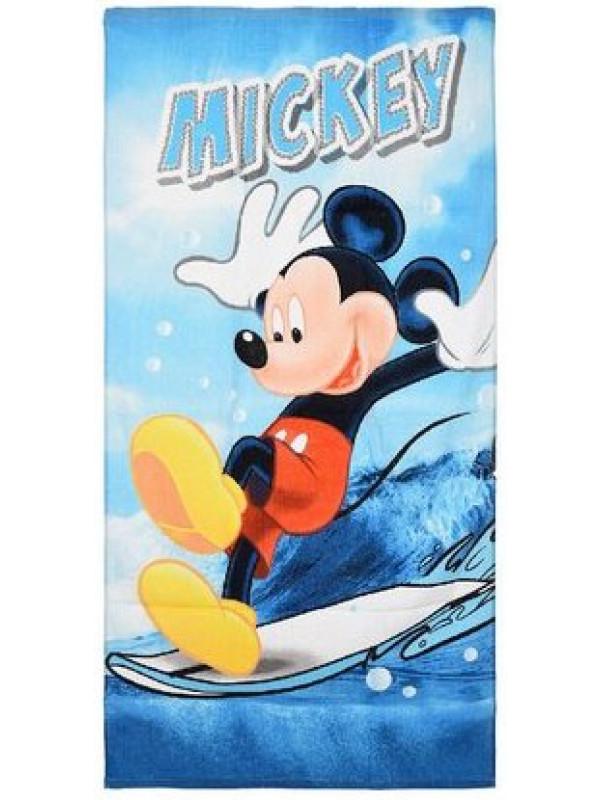 Badehåndklæde med mickey mouse - Mickey Mouse badehåndklæde