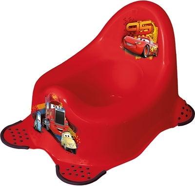Cars glidefri potte - Disney potte og toiletsæde