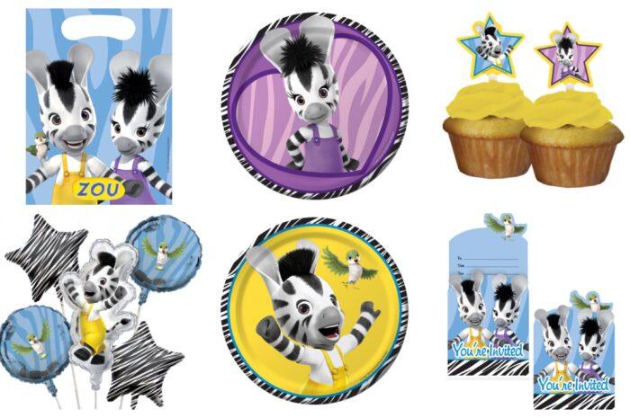 Disney Zou fødselsdag borddækning