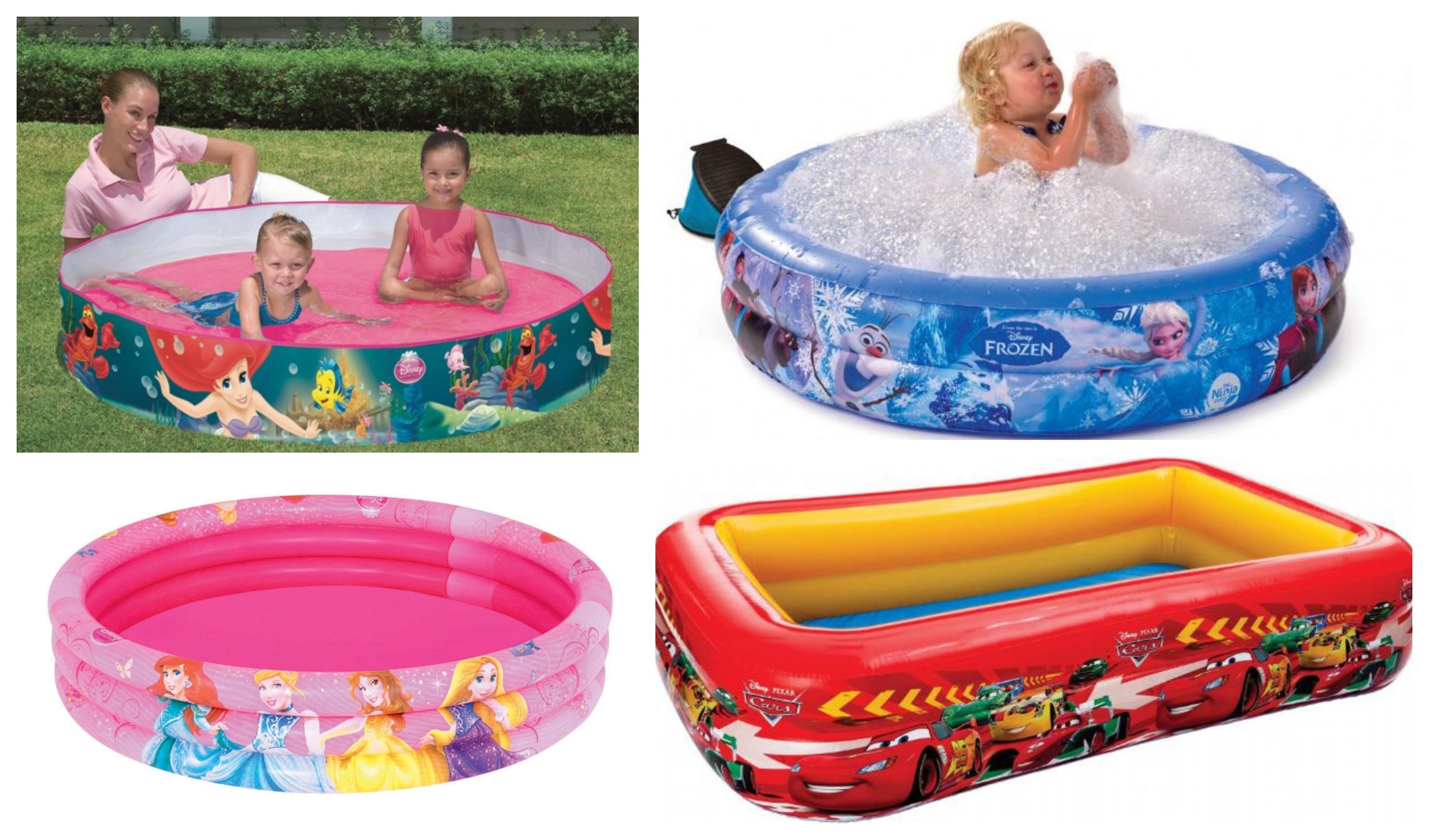 Disney badebassin til børn – hygge i sommervarmen