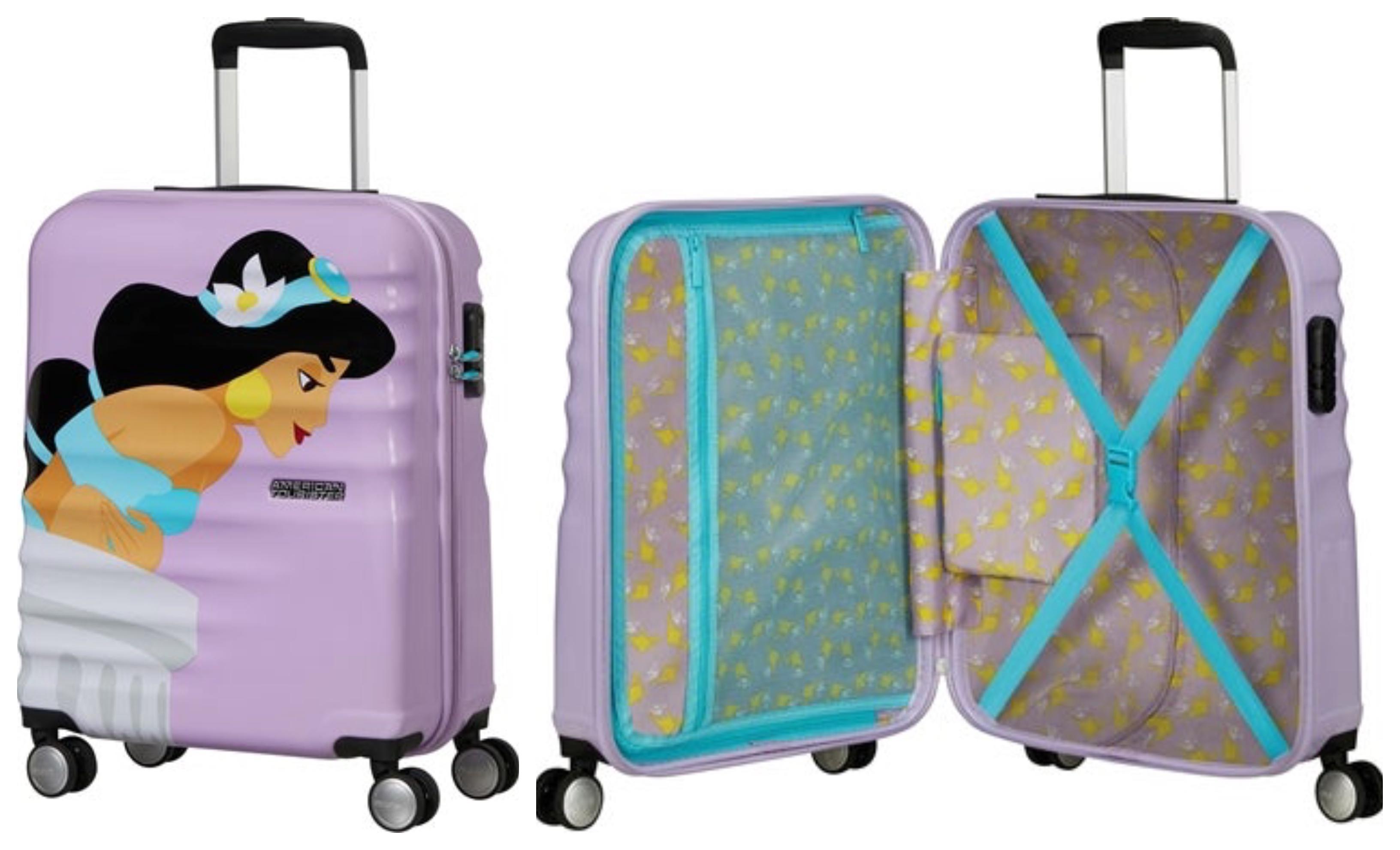 Disney jasmin kabinekuffert - Disney prinsesse kuffert