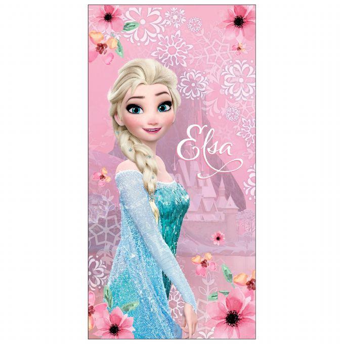 Elsa badelagen - Frost badehåndklæde til din Frost prinsesse