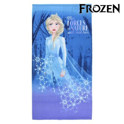 Elsa mikrofiber håndklæde - Frost badehåndklæde til din Frost prinsesse