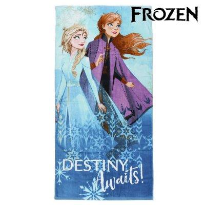 Frost 2 badehåndklæde med elsa og Anna - Frost badehåndklæde til din Frost prinsesse