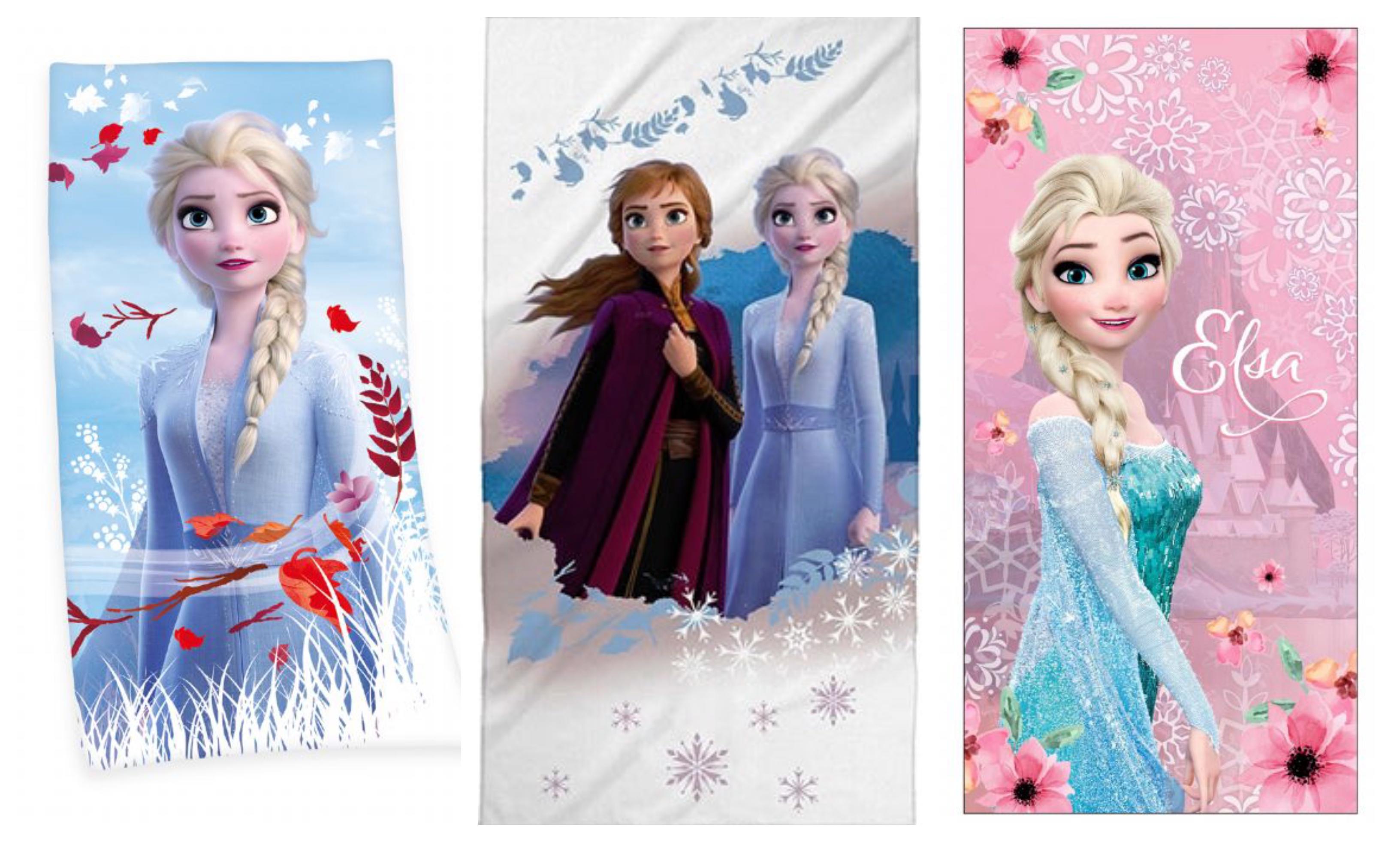 Frost badehåndklæde - Frost badehåndklæde til din Frost prinsesse