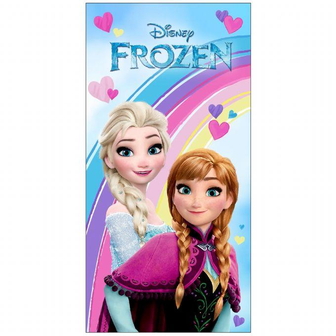 Frozen håndklæde - Frost badehåndklæde til din Frost prinsesse