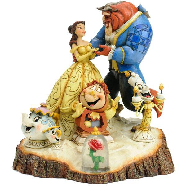 Jim shore skønheden og udyret figur - 10+ Belle gaveideer til voksne