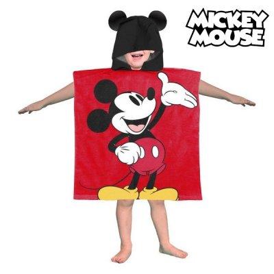 Mickey mouse poncho håndklæde - Mickey Mouse badehåndklæde