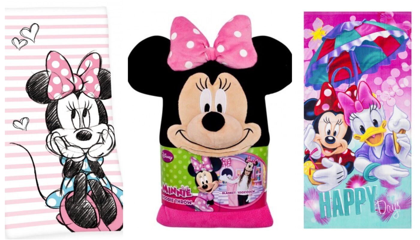 Minnie mouse badehåndklæde, minnie mouse håndklæde, minnie mouse håndklæder til børn, disney håndklæder med minnie mouse, disney håndklæder til piger, minnie mouse gaver