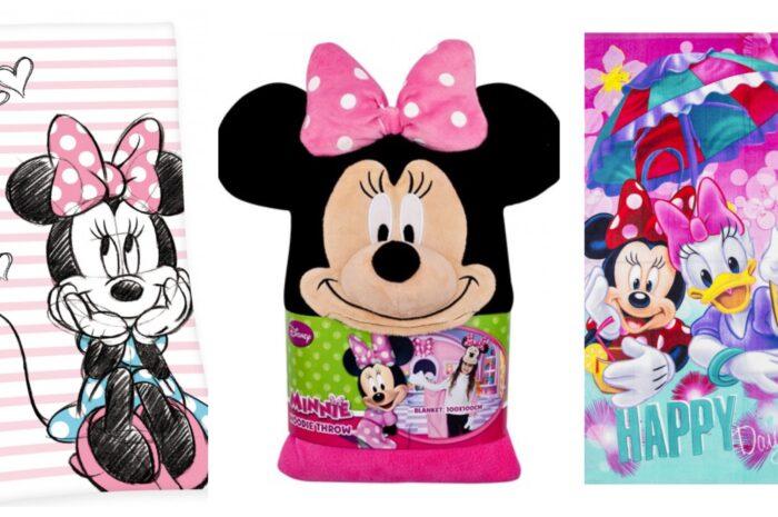 Minnie Mouse badehåndklæde