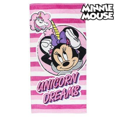 Minnie Mouse enhjørning håndklæde - Minnie Mouse badehåndklæde