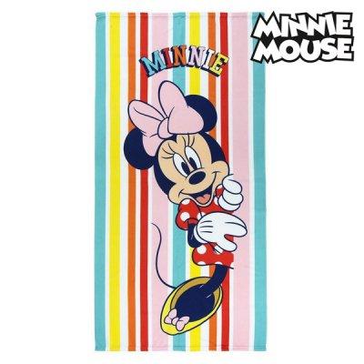 Minnie Mouse mikrofiber håndklæde - Minnie Mouse badehåndklæde