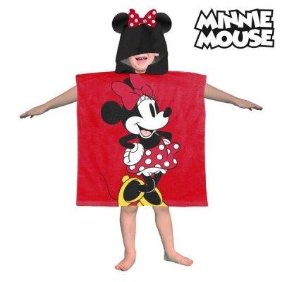 Minnie Mouse poncho håndklæde - Minnie Mouse badehåndklæde