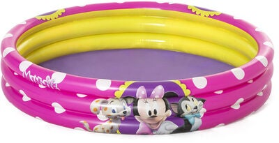 Minnie mouse badebassin til børn - Disney badebassin til børn - hygge i sommervarmen