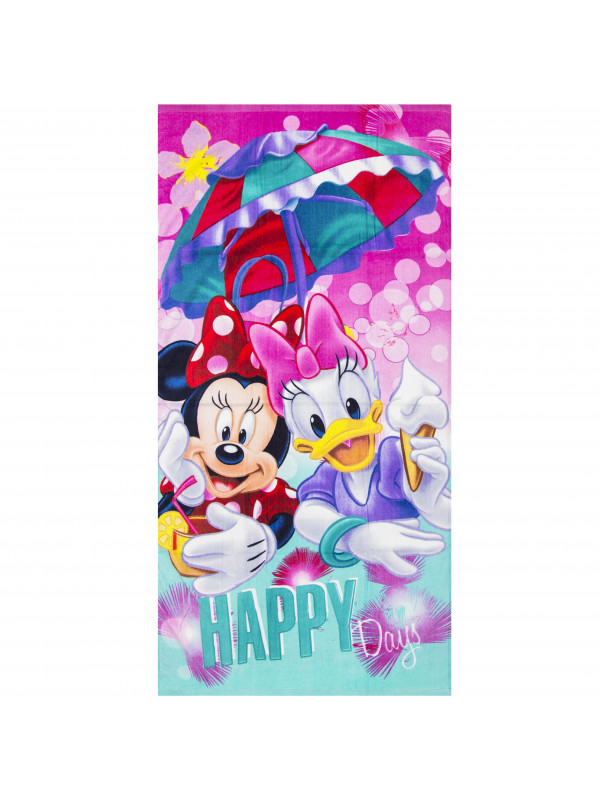 Minnie mouse og andersine badehåndklæde - Minnie Mouse badehåndklæde