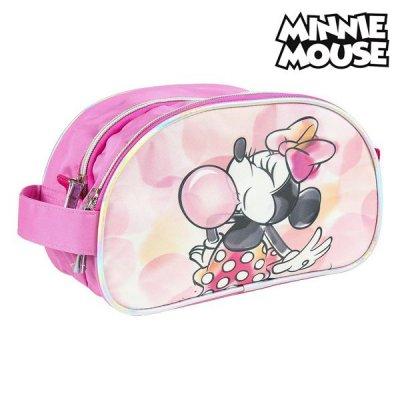 Pink Minnie Mouse toilettaske - Disney toilettaske til børn (og voksne)