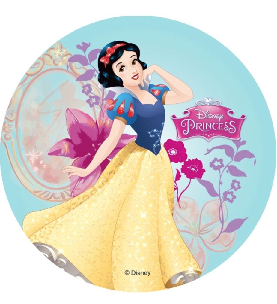 Snehvide kageprint - Disney prinsesser kageprint