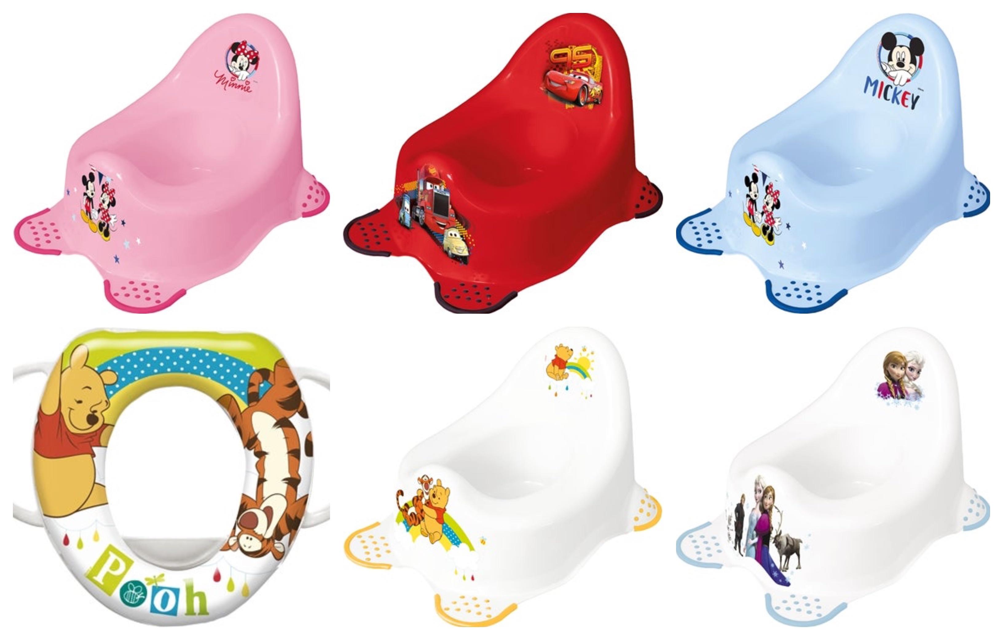 disnet toiletpotte - Disney potte og toiletsæde