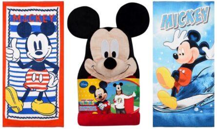mickey mouse badehåndklæde, mickey mouse håndklæde til børn, mickey mouse børnehåndklæde, mickey mouse håndklæder, disney håndklæde med mickey mouse, disney håndklæder til drenge, mickey mouse gaver til børn