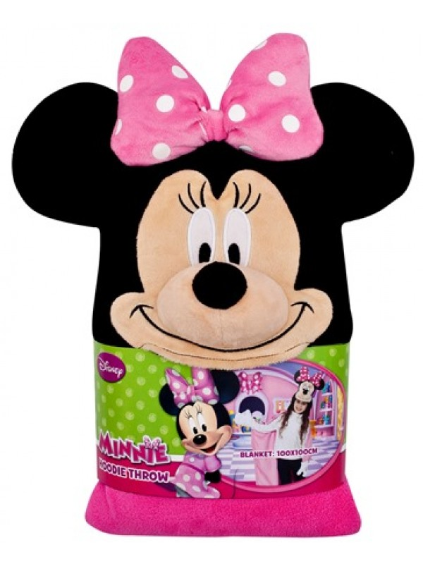 minnie mouse poncho - Minnie Mouse badehåndklæde