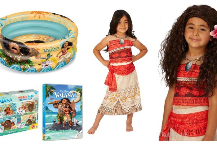 10+ Vaiana gaveideer til børn