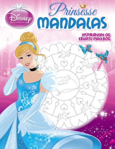 Askepot mandalas malebog askepot gaveideer til børn 1 - 10+ Askepot gaveideer til børn